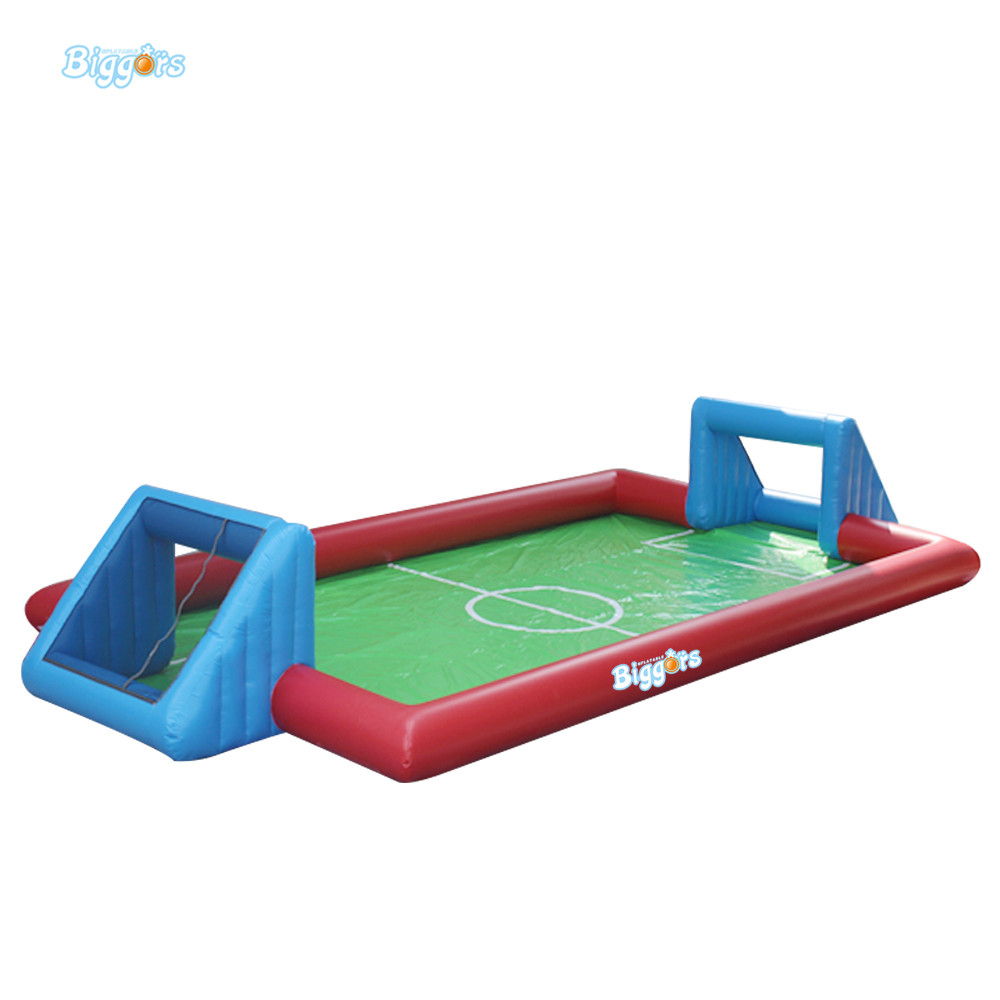 Inflatable Biggors Commercial Grade Soapy Stadium Inflatable Football Field Inflatable Soap Soccer Field For Games commercial sea inflatable blue water slide with pool and arch for kids
