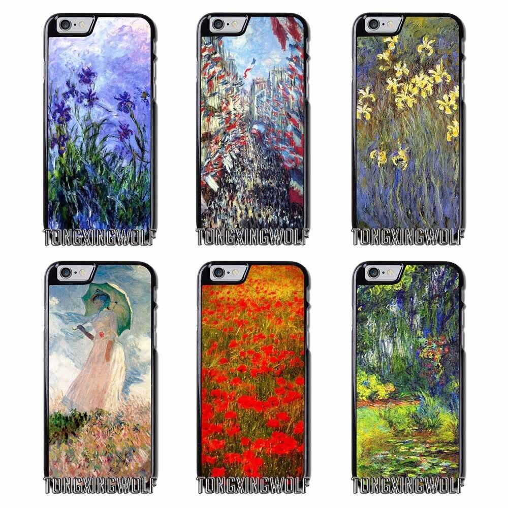 Claude Monet Impressionism Cover Case For Samsung S4 S5 S6 S7 S8 Eege Plus Note 2 3 4 5 8 Huawei honor P8 P9 P10 Lite