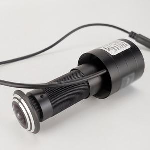 Image 3 - Mini caméra de sécurité analogique 800TVL, FishEye, grand Angle, caméra vidéo de porte, compatible avec TV, moniteur, vue directe