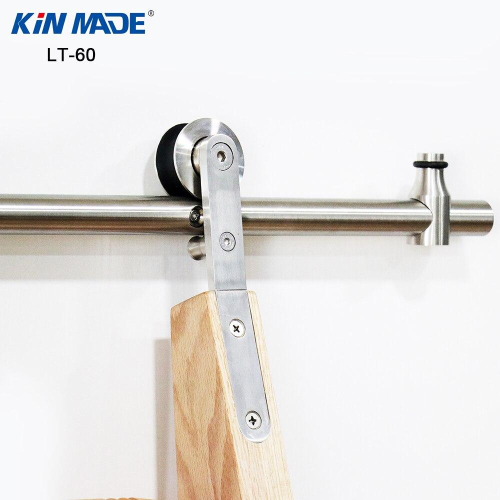 Kinmade Stainless Steel Round Tube Sliding Ladder Hardware Library Ladder Track Kit-in Slides from Home Improvement    3