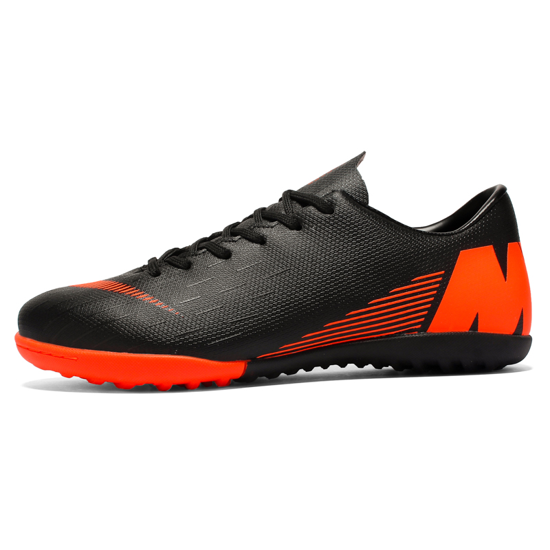 Indoor Superfly Breathable Chuteira Futebol Men Soccer Shoes Original Turf Boys Kids Football Boots Male Traning Futsal Sneakers Soccer Shoes     - title=