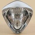 "6"" Plated Cobra Headlight For Honda Magna250 Steed VLX400/600 Shadow VT750 LP620"