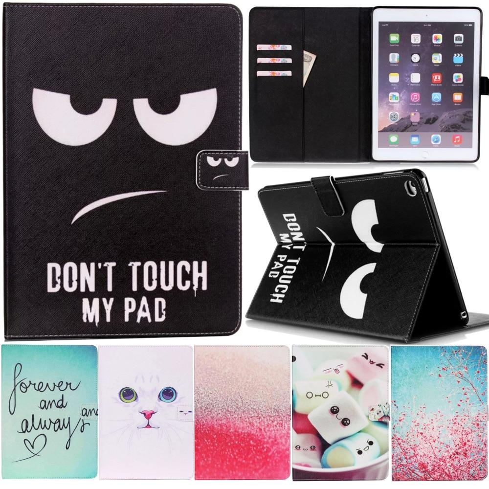 Pour Mini iPad Mini 4 Cas De Couverture Smart Portefeuille Silicone Stand Cas Fille Enfants Cadeau Couvercle De Protection w/Écran Protecteur Film + Stylus stylo