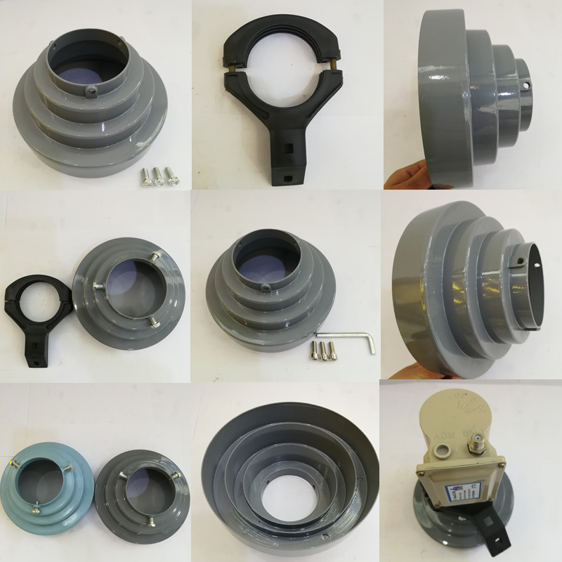Conical scalar ring cone and c band lnb holder for offset KU band dishes