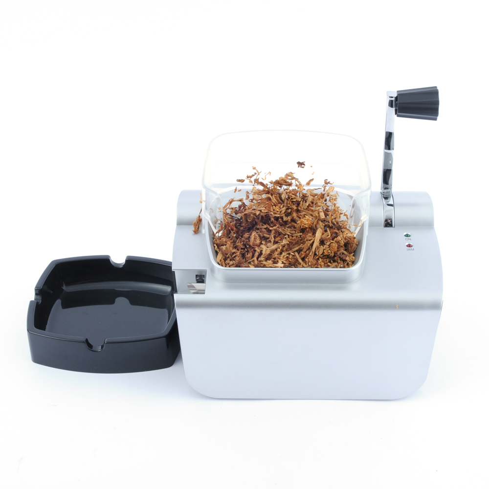 Electric Cigarette Injector Machine Automatic Cigarette Rolling Machine Tobacco Roller Maker 8mm Injector Tube