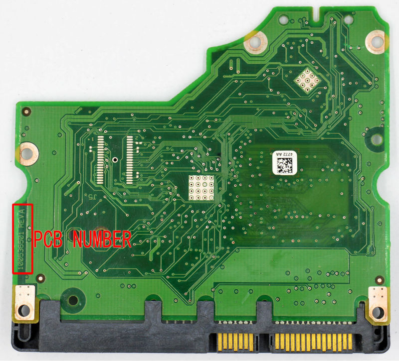 ST31000528AS HDD PCB for Seagate/Logic Board/Board Number: 100536501