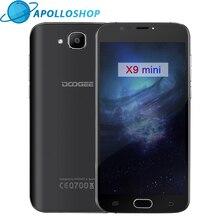 Origine DOOGEE X9 mini D'empreintes Digitales 5.0 Pouces HD 1 GB + 8 GB Android 6.0 Double SIM MTK6580 Quad Core 5.0MP 2000 mAH WCDMA mobile téléphones