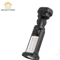 BRIGHTINWD New Outdoor Patch 3WLED Flashlight Glare General Car Emergency Repair Lamp With Magnetic Work Inspection Lamp