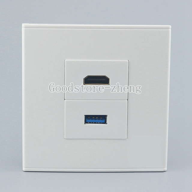 Outlet Faceplate Adorable Wall Face Plate 3.0 Usb Charging Jack Port  Hdmi Outlet Faceplate 2017