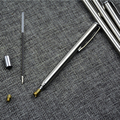 Pointer Pen Creative Instrument Baton Section 6 Stainless Steel Telescopic Magic Ball Pen Kindergarten Teacher Teaching Supplies