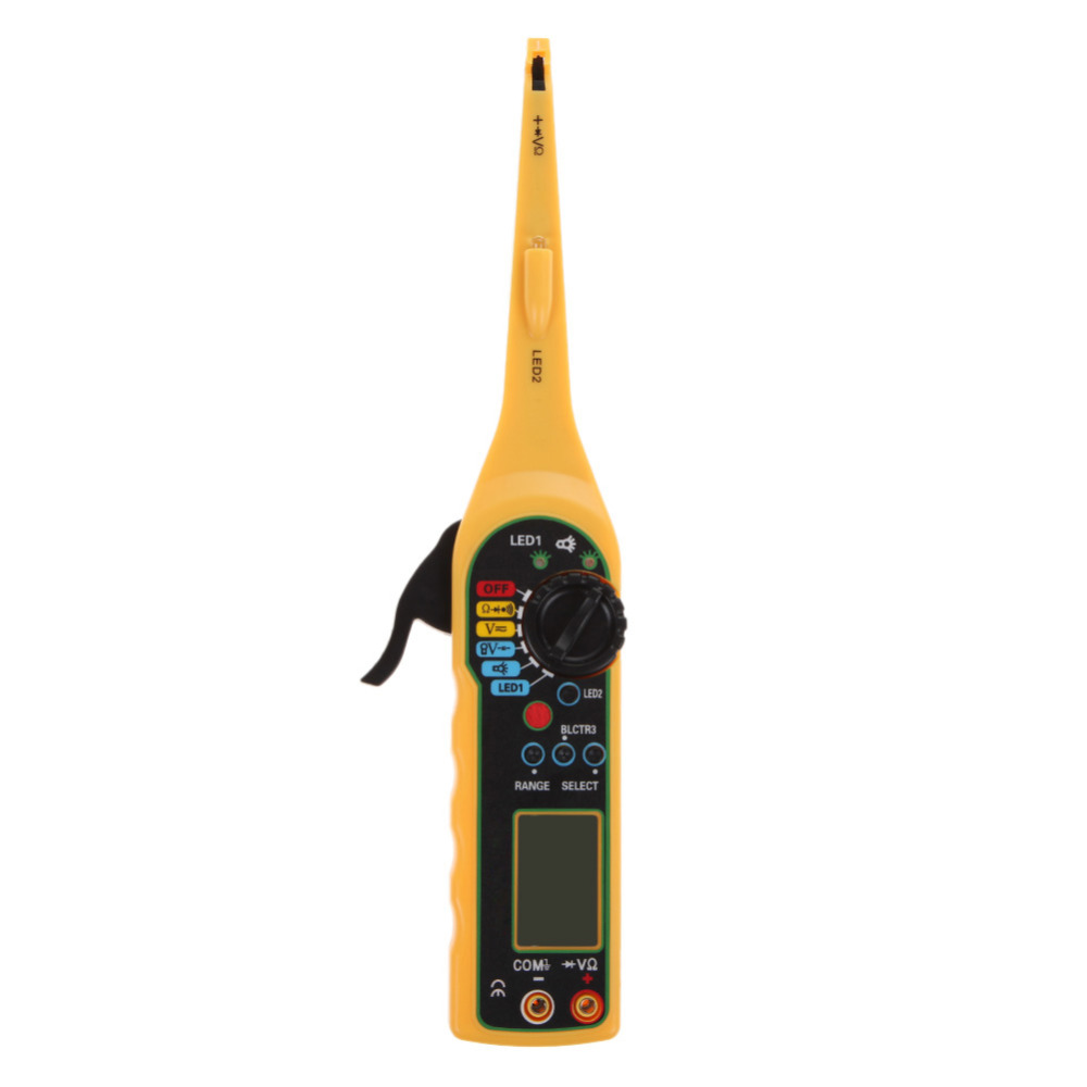 Multi Function Auto Circuit Tester With Led Multimeter Lamp Car Repair Automotive Electrical Tools