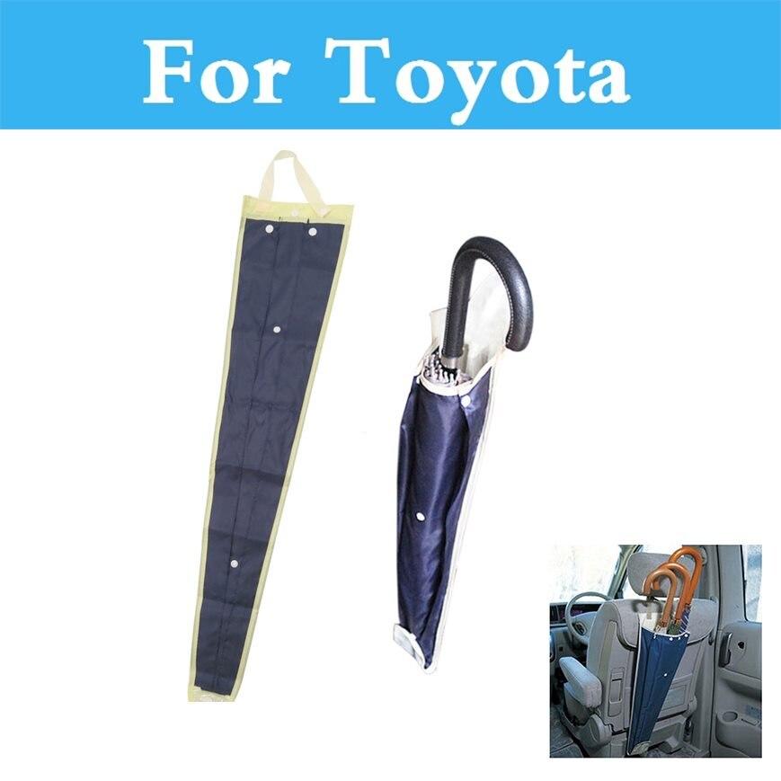 Foldable Car Seat Back Umbrella Storage Organizer Cover Case For Toyota Camry Avensis Aygo Belta Blade Brevis Caldina Cami