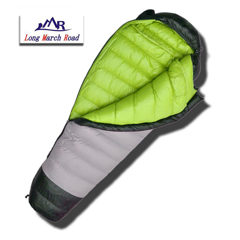 Image 3 - LMR Ultralight 400G/600G/800G White Goose Down Filling Waterproof  Comfortable Camping Sleeping Bag Slaapzak Lazy Bagcamping sleeping  bagdown sleeping bagsleeping bag