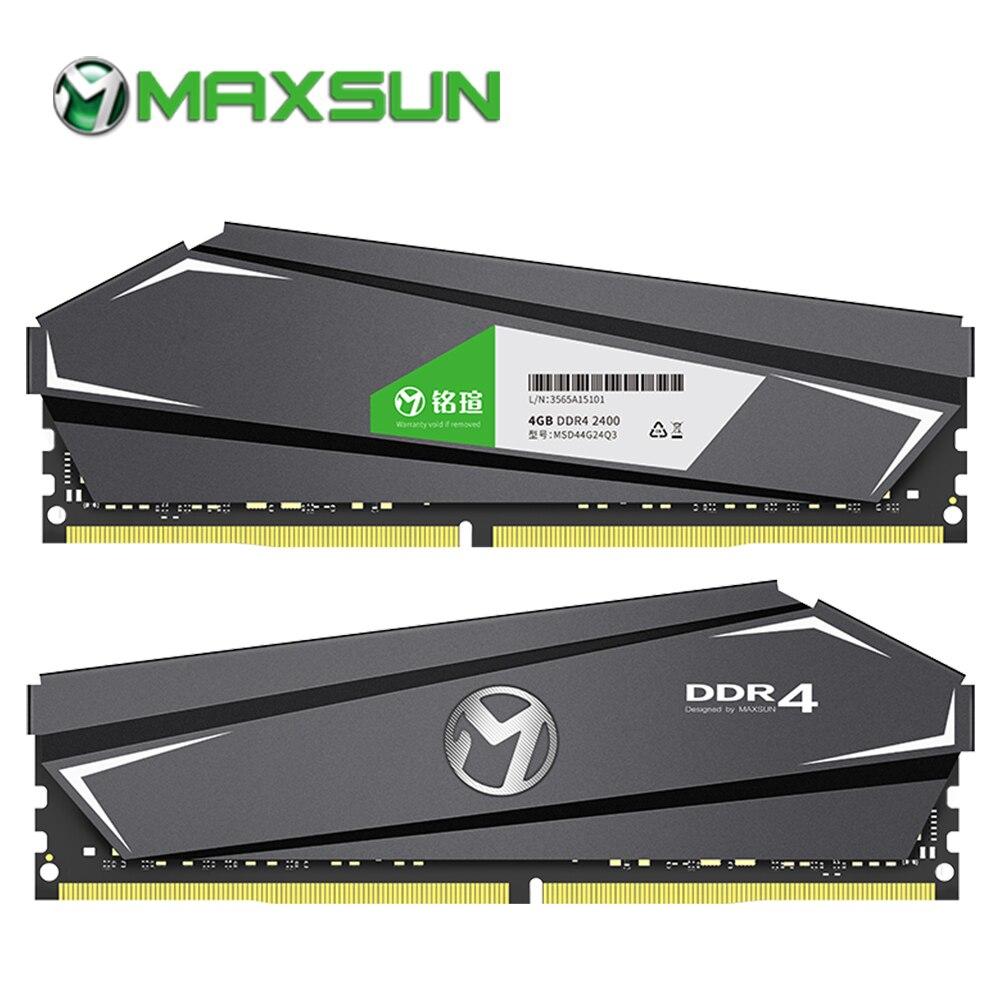 MAXSUN ram ddr4 4gb 2400mhz desktop memory Lifetime warranty Interface Type 288pin Memory Voltage 1 2V
