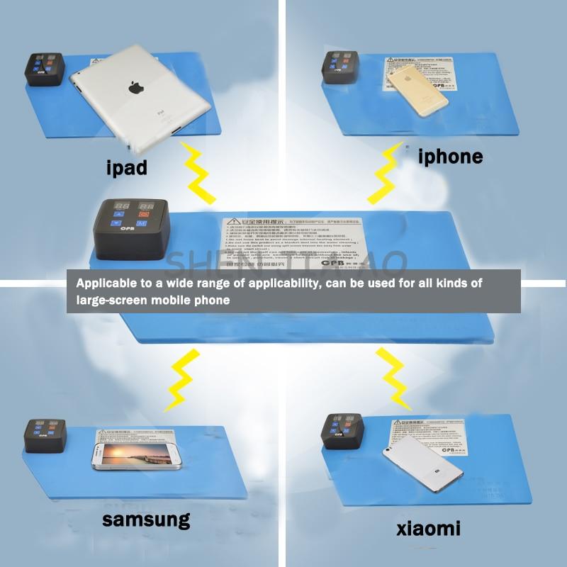 Mobile phone split screen treasure iphone Samsung mobile phone replacement touch screen split screen heating separation 110/220V