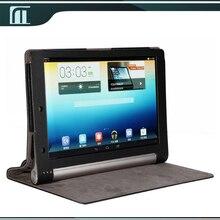 Para lenovo yoga tablet 10 b8000 b8000-f pu leather case con soporte Elegante de La Cubierta de La Bolsa de 10 pulgadas Tablet PC con el envío libre