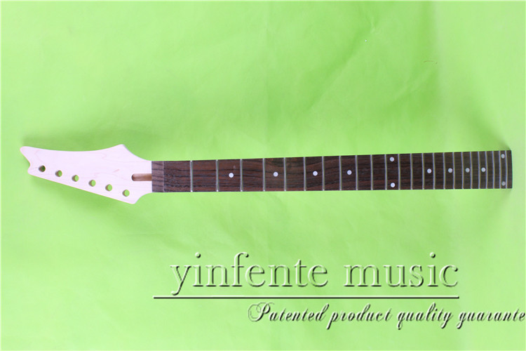 YZ-0087#      25.5 Electric guitar neck   Bolt on  rosewood