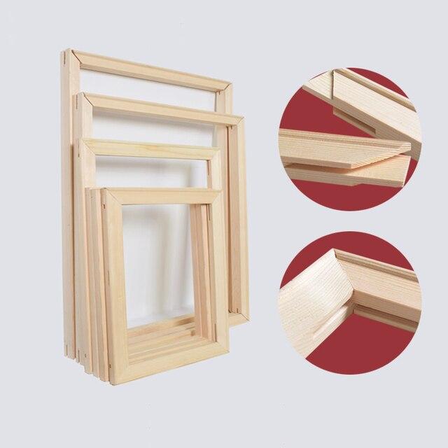 Super Combinato telaio in legno per la pittura a olio su tela telaio FAI  ZU41