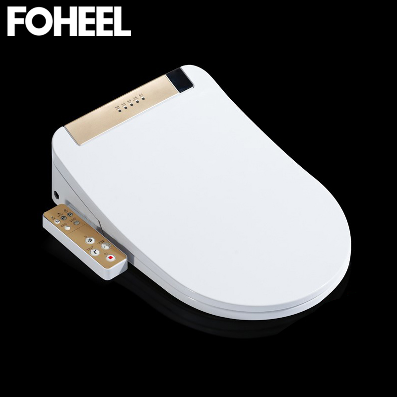 Toilet Seat Washlet Intelligent Elongated Electric LCD 3 Color Bidet Cover Smart Bidet Heating Sits Led