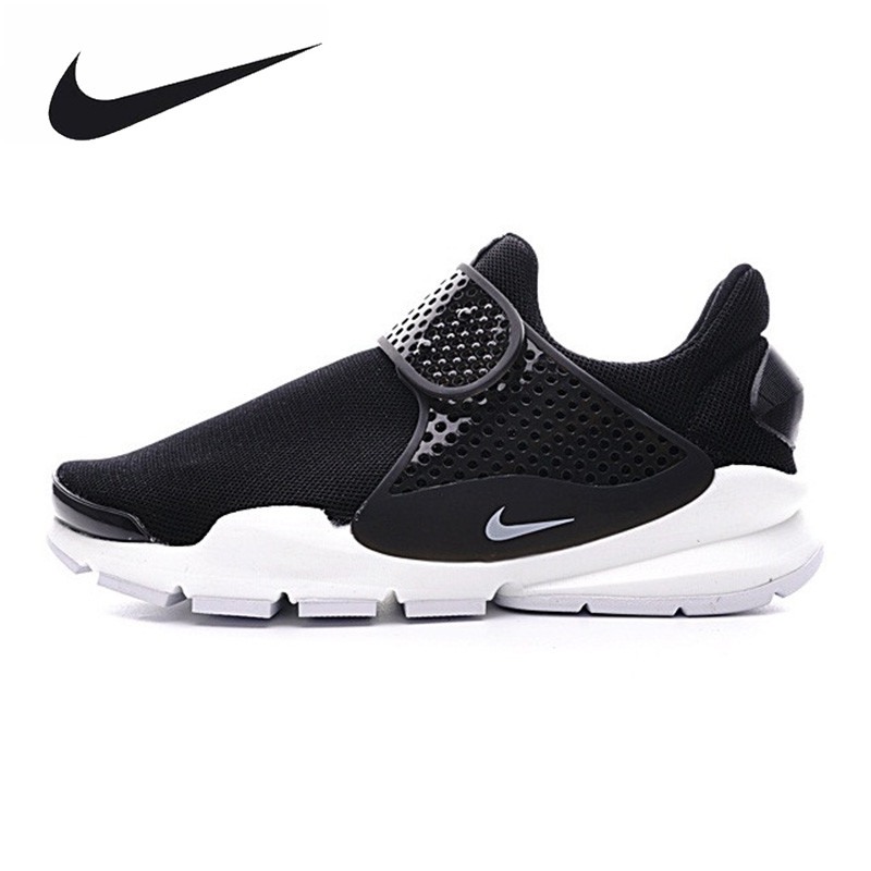 d16c0ee6e4749 ... inexpensive nike wmns sock dart br mens and womens running shoes black  white lightweight breathable 722f4