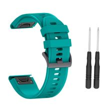 20MM Quick Release Silicone Strap for Fenix 5S Plus For Garmin Instinct Watch Watchband