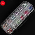 12 Colors Strass Nail Art Rhinestones Design of All Know for Manicure Jewelry-Nails Ornament for Nail Rhinestone-for-Nail-Art