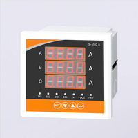 Three Phase LCD Digital Multifunction Meter Energy Accumulation RS485