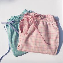e12db58fc56 2019 primavera verano Mujer Pantalones de algodón para dormir mujer Sweety talla  grande pantalones de pijama