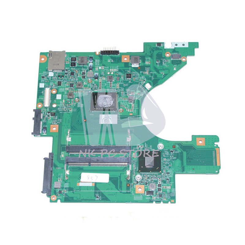CM-0MJPRW 0MJPRW Motherboard For Dell V131 Laptop Main board CPU onboard DDR3 100% tested a1843425a motherboard for sony vaio vpcel2 vpcel22fx laptop motherboard 48 4ms01 011 mbx 252 e450 cpu ddr3