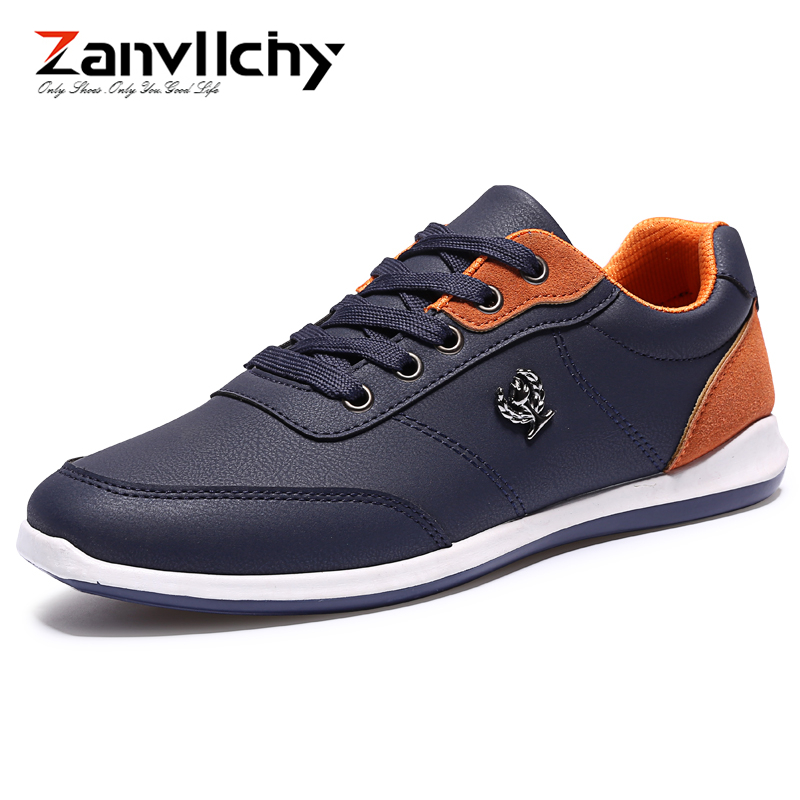 Zanvllchy Men's Casual Shoes Sneakers Summer Leather Breathable Comfortable Men Flat Shoes Loafers Footwears Lace-up Walking men s leather shoes vintage style casual shoes comfortable lace up flat shoes men footwears size 39 44 pa005m