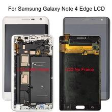 100% Протестировано для samsung Galaxy Note 4 Edge N915 N9150 N915F ЖК дисплей Дисплей Сенсорный экран дигитайзер с рамкой в сборе + Бесплатные инструменты