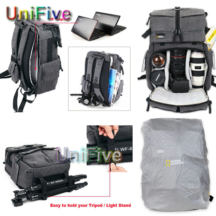 819dbaa01ef National Geographic NG W5070 Walkabout 5070 double shoulder DSLR Camera Rucksack  Backpack Laptop bag for Canon Nikon waterproof-in Camera Video Bags from ...
