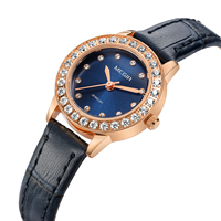 Women Luxury Watch Reloj Mujer Megir Top Brand Twinkly Small Watches Rose Gold Free Shipping Damen Uhren Montres Femme Dropship