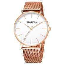 Часы мужские кварцевые розовое золото 1116