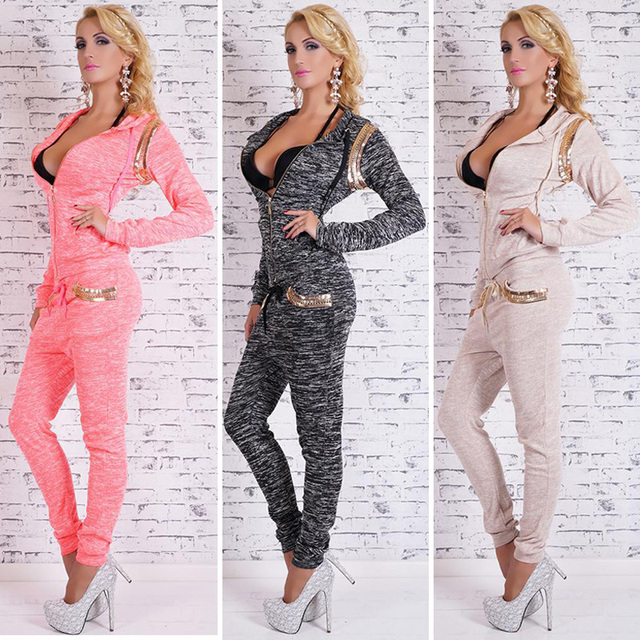 Sexy sweat suits