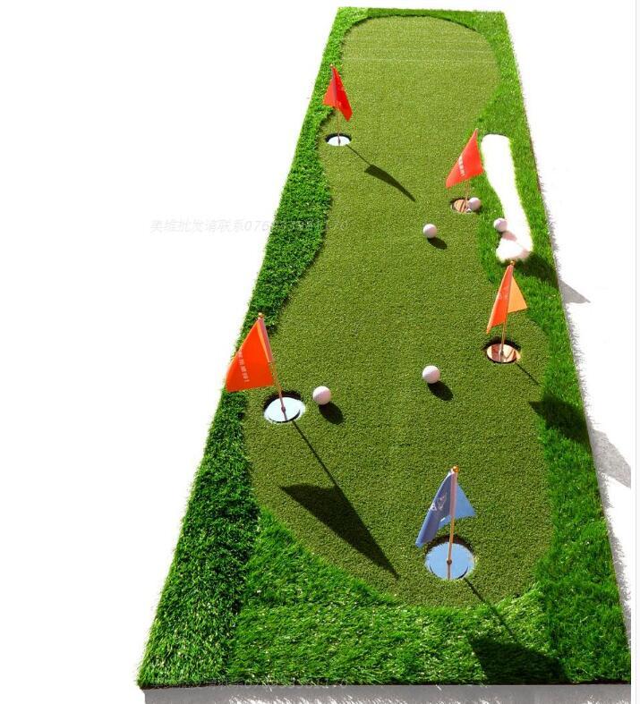 Golf putt practice mats indoor/outdoor practice blanket coaching practice putting  green scale pad new High quality Korean grass стоимость