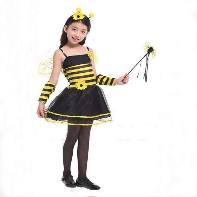 Childrenu0027s Costumes Performance Clothing Flowers Bees Wings Princess Dress Cosplay Costume Fairy Insects  sc 1 st  AliExpress.com & Childrenu0027s Costumes Performance Clothing Flowers Bees Wings Princess ...