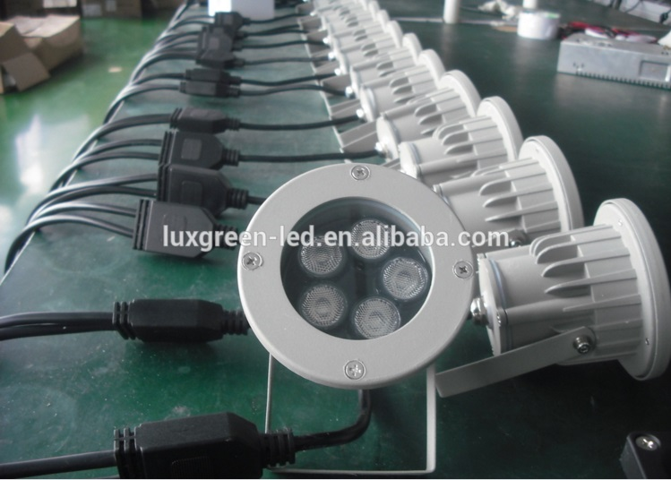 Фото Guarranteed 100% Free DHL shipping Hot Selling Led Landscape Light 40W 24Vdc 4In1 Rgbw Outdoor Spike Led Garden Light