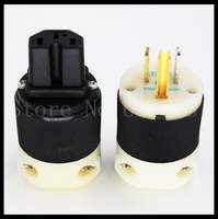 hifi-hubbell-8215c-gold-plated-us-power-plugiec-female-connector-jack-for-power-cable-2pairs