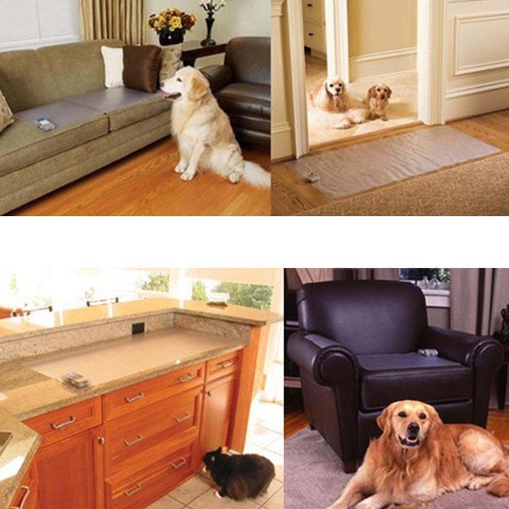 Творческий Pet безопасной и быстрой шок скат держать в гостях коврик электронная собака Cat Тренировочный мат диван шок животное дом трениров... ...