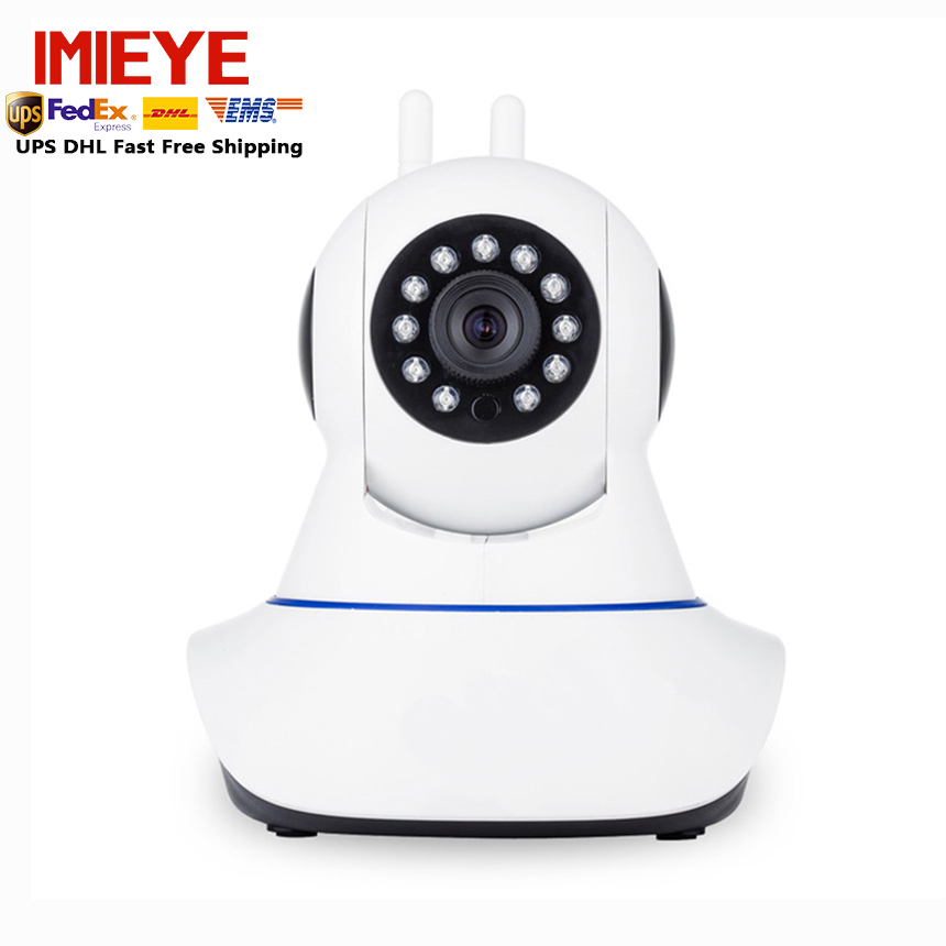 ФОТО IMIEYE full HD 1080P IP camera mini PTZ wifi wireless camera IR night vision SD TF card Slot P2P Onvif audio pan&tilt webcam