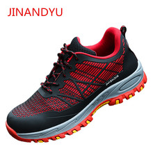 Work Safety Shoes for Men Lightweight Anti-smashing Anti-Puncture Insulation Male Boots Sneakers Zapatos