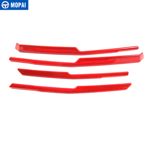Image 5 - MOPAI Car Exterior Front Grille Cover Decoration Trim ABS Stickers for Chevrolet Camaro 2017 Up Car Accessories Styling