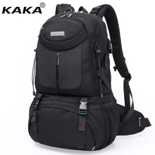 2017 New KAKA Brand Waterproof Men Travel Backpack 17 Laptop Bag Women School Backpacks 50L Large