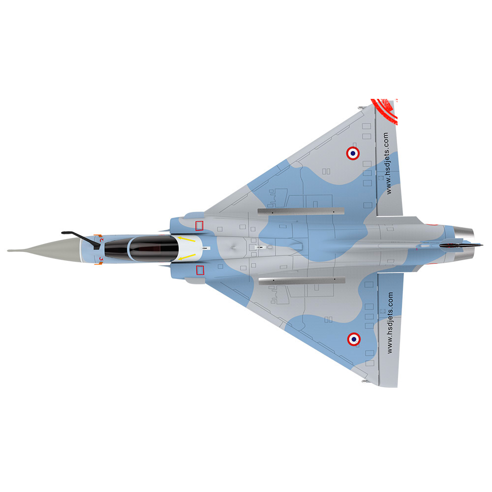 MIRAGE 2000 Foam RC JET Camouflage Airplane 6/K60 Turbine Engine Coast Guard Painting RC Fixed Wing Jetcat Airplane PNP/ARF image