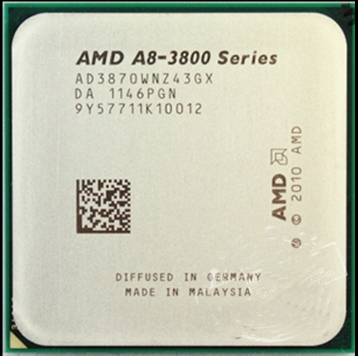 AMD A8 Quad-Core A8-3870K-3 GHz 4 (AD3870WNGXBOX) Prozessor