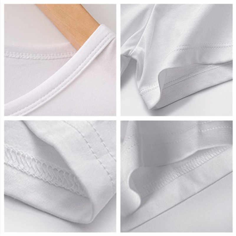 LUSLOS Delle Donne di VOGUE Unicorno Viso T-Shirt Casual Manica Corta Della Signora Casual bianco delle donne Tee Shirt Femme Super Soft Camicette