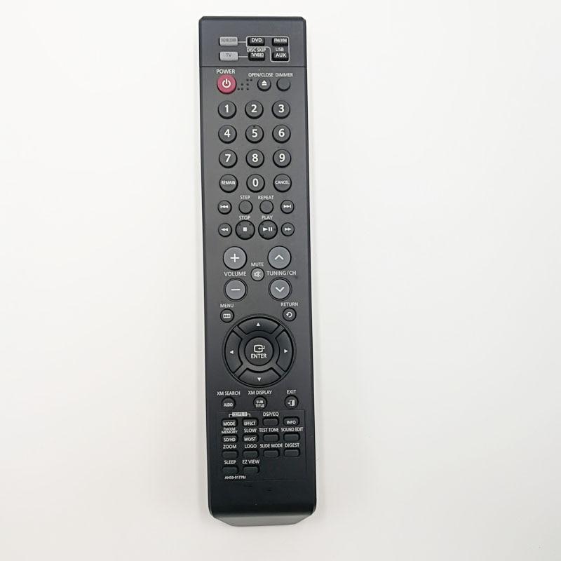 used original  remote control  ah59-01778j for Samsung ah59-01778b  MM-X5T MM-X5T/XAA DVD/Home Theater Audio аккумулятор patriot 12v 1 5 ah bb gsr ni