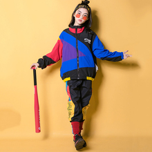 Jazz Dance Costumes Girls Boys Hip Hop Clothes Kids Stage Co