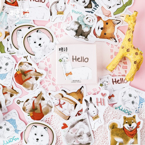 45 шт./кор. японский вид этикетка наклейки декоративные канцелярские наклейки Скрапбукинг Diy дневник альбом ярлыком - Цвет: J